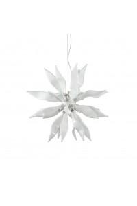 Подвесной светильник Ideallux LEAVES SP8 BIANCO 111957