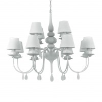 Люстра Ideallux BLANCHE SP12 BIANCO 114224