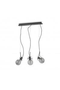 Подвесной светильник Ideallux RADIO SP3 NERO 119472