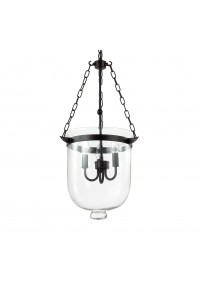 Подвесной светильник Ideallux ENTRY SP3 BIG NERO 134215
