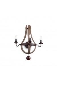 Настенный светильник Ideallux MILLENNIUM AP3 136875