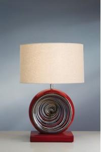 Настольный светильник Elstead LUI/RED SWIRL