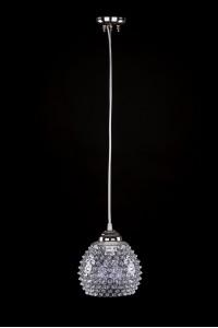 Подвесной светильник Artglass KELLY DIA 180 NICKEL