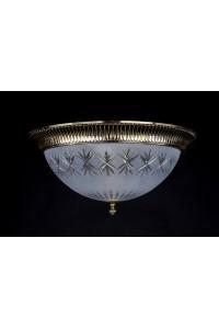 Потолочный светильник Artglass LEA III. BRASS ANTIQUE
