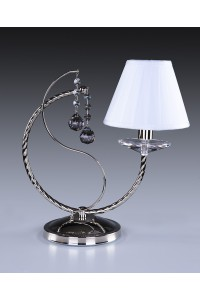 Настольная лампа Artglass ZOE I. NICKEL CE - 8006