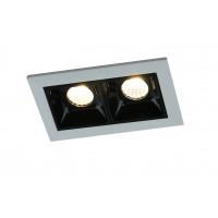 Встраиваемый точечный светильник Artelamp GRILL A3153PL-2BK