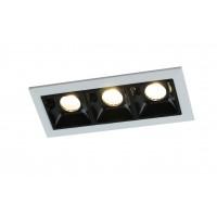 Встраиваемый точечный светильник Artelamp GRILL A3153PL-3BK