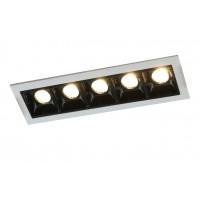 Встраиваемый точечный светильник Artelamp GRILL A3153PL-5BK