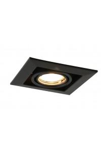 Встраиваемый точечный светильник Artelamp CARDANI  PICCOLO A5941PL-1BK