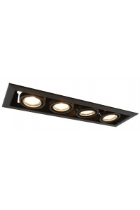 Встраиваемый точечный светильник Artelamp CARDANI  PICCOLO A5941PL-4BK