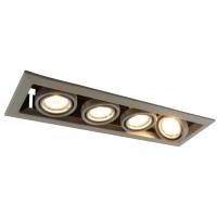 Встраиваемый точечный светильник Artelamp CARDANI  PICCOLO A5941PL-4GY
