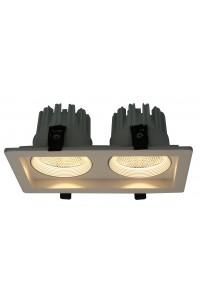 Встраиваемый точечный светильник Artelamp PRIVATO A7007PL-2WH