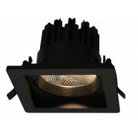 Встраиваемый точечный светильник Artelamp PRIVATO A7018PL-1BK