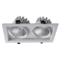 Встраиваемый точечный светильник Artelamp PRIVATO A7018PL-2WH