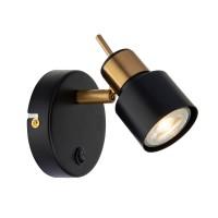 Спот Arte Lamp Almach A1906AP-1BK