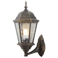 Уличный настенный светильник Artelamp GENOVA A1201AL-1BN