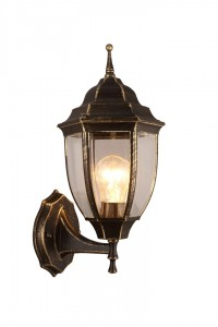 Уличный настенный светильник Artelamp PEGASUS A3151AL-1BN