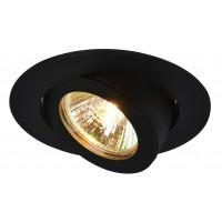 Встраиваемый светильник Artelamp ACCENTO A4009PL-1BK