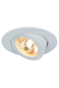 Встраиваемый светильник Artelamp ACCENTO A4009PL-1WH