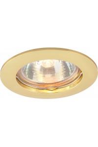 Встраиваемый светильник Artelamp BASIC A2103PL-1GO