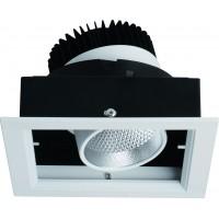 Встраиваемый светильник Artelamp CARDANI A1712PL-1WH