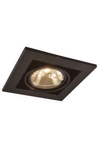 Встраиваемый светильник Artelamp CARDANI A5930PL-1BK