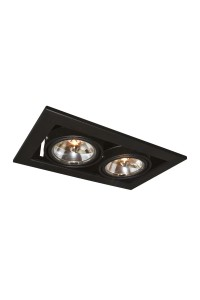Встраиваемый светильник Artelamp CARDANI A5930PL-2BK