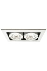 Встраиваемый светильник Artelamp CARDANI A5930PL-2WH