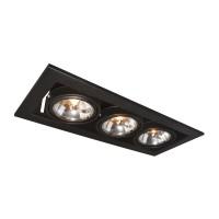 Встраиваемый светильник Artelamp CARDANI A5930PL-3BK