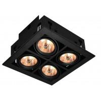 Встраиваемый светильник Artelamp CARDANI A5930PL-4BK