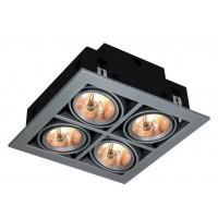 Встраиваемый светильник Artelamp CARDANI A5930PL-4SI