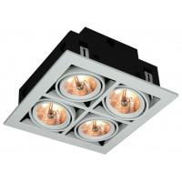 Встраиваемый светильник Artelamp CARDANI A5930PL-4WH