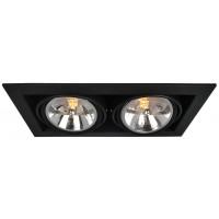 Встраиваемый светильник Artelamp CARDANI A5935PL-2BK
