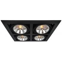 Встраиваемый светильник Artelamp CARDANI A5935PL-4BK