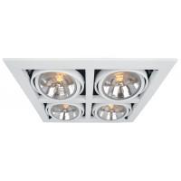 Встраиваемый светильник Artelamp CARDANI A5935PL-4WH