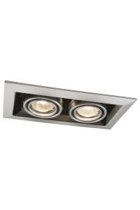Встраиваемый светильник Artelamp CARDANI A5941PL-2SI