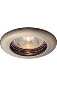 Встраиваемый светильник Artelamp PRAKTISCH A1203PL-1AB