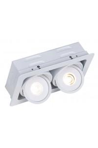 Встраиваемый светильник Artelamp STUDIO A3007PL-2WH