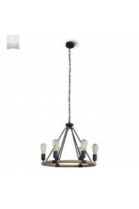 Подвесной светильник N&B Light С Пирей 40655 НСБ черный матовый