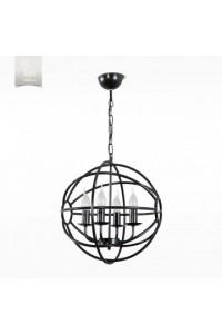 Подвесной светильник N&B Light С Сириус 30606 НСБ черный матовый