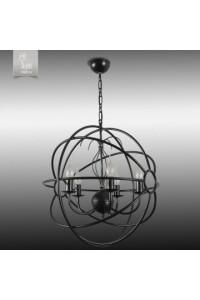 Подвесной светильник N&B Light С Сириус 30709 НСБ черный матовый