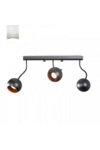 Потолочный светильник N&B Light С Фотон 50133 НСБ черный медь