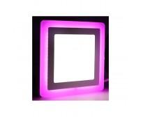 Точечный светильник Truenergy 6+3W 10264 (розовый)