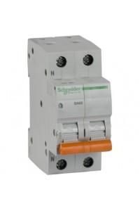 Автоматический выключатель Домовой 11218 ВА63 1П+Н 50A C 4,5 кА