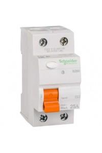 Дифференциальный выключатель нагрузки Домовой 11450 ВД63 2П 25A 30MA АС