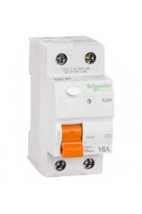 Дифференциальный выключатель нагрузки Домовой 11454 ВД63 2П 16A 10MA АС