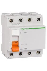 Дифференциальный выключатель нагрузки Домовой 11463 ВД63 4П 40A 30MA АС