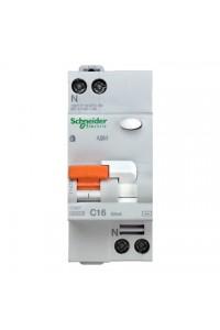Дифференциальный Автоматический выключатель Домовой 11473 АД63 1П+Н 16A 30MA 4,5кА C АС