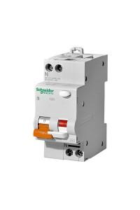 Дифференциальный Автоматический выключатель Домовой 12521 АД63 K 1П+Н 10A 30MA 4,5кА C АС