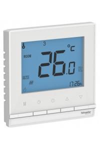 Термостат тепл.пол AtlasDesign ATN000138 16A, клавишный с рамкой, белый